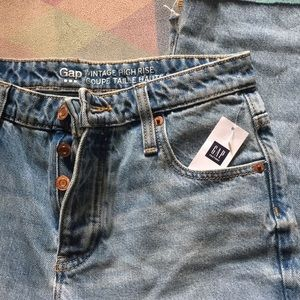 Gap vintage high rise coupe jeans